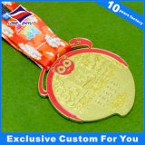 Medalla a medida con exquisito Grado superior de impresión Lanyard