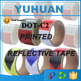 Camada de PVC colorido / Pet Based Vehicle Vehicle Adhesive Light Reflective Tape
