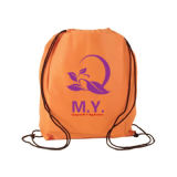 Saco de Drawstring personalizado do poliéster com registro M.Y.D-039
