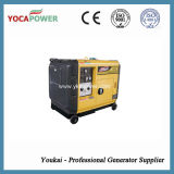 Groupe électrogène diesel portatif refroidi par air de petit pouvoir silencieux de l'engine 5.5kw