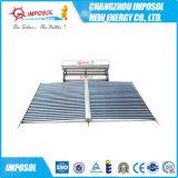 Calentador de calor solar de la pipa de agua con la bobina de cobre