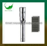 6 Zoll 2200kw 3HP Solar-Gleichstrom-Edelstahl-tiefe Vertiefungs-versenkbare Wasser-Pumpe (SL6SP17-02/2.2KW)