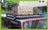 Cremalheira de bagagem do telhado da liga de alumínio para a porta da porta 4 de Jk 2 do Wrangler do jipe