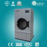 Máquina eléctrica e a vapor do secador da queda da lavanderia