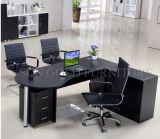 Sun-Gold brennt Büro-Schreibtische hölzernen Luxuxbüro-Tisch ein (SZ-ODT657)