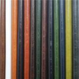 Venda por atacado de couro sintética da tela do falso para o sofá, mobília (498#)