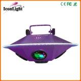 Seule lumière Rgbwy d'effet de faisceau de zoom d'UFO pour KTV (ICON-A050)