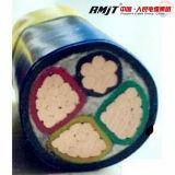 0.6/1kv câble d'alimentation de faisceau de PVC isolé par XLPE Sheated 4