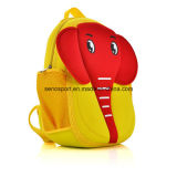Nouveau sac de sac à dos du néoprène d'enfants de conception d'éléphant de dessin animé (SNPB08)