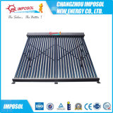 Coletor solar evacuado 2016 58mm pressurizado elevado de tubulação de calor da câmara de ar