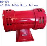 Sirene Ms-590 Ms490 do motor elétrico