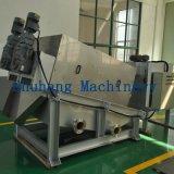 Prensa de tornillo de desecación del lodo hecha a máquina en China