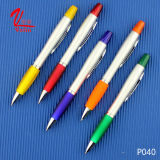 Stylo bille en plastique du meilleur de papeterie crayon lecteur de barre de mise en valeur sur la vente