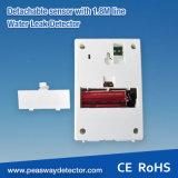 Peasway 110dB Wasser-Warnungs-Detektor mit niedrigem Batterie-Alarm (PW-312L)