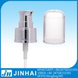 Pompa crema di plastica del rivestimento UV con la protezione mezza 24/410