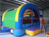 Sale를 위한 Double Slide를 가진 새로운 Commercial Rainbow Bouncy Castle