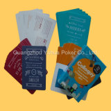 Núcleo Azul Papel juego de cartas Naipes con alta calidad
