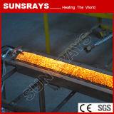 Промышленный ультракрасный подогреватель горелки с горелкой волокна металла