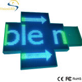 屋外最もよい価格LEDの薬学の十字の表示は防水する
