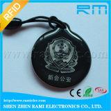 Cartão de cristal chave da cola Epoxy RFID do Tag Topaz512 de Menbership com código de Qr