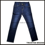 최고 판매 최신 디자인 Eco-Friendly 파란 데님 신사 청바지 (N16984)