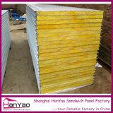 Los paneles de pared personalizados de lana de roca de aislamiento Sandwich PPGI