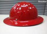 Capacete de segurança industrial ajustável tipo T Capacete de segurança