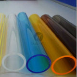 Tuyau en acrylique coloré de haute qualité de PMMA