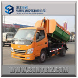 ガソリン及びCNG Engine T-King 4X2 Hook Lift /Roll-off Garbage Truck