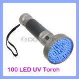395nm Handheld Ultraviolet LED Torch Pet Stains Detector Scorpions Hunting 100 LED UVFlashlight