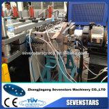 Línea de la protuberancia de la tarjeta de la cabina de la corteza del PVC con servicio profesional