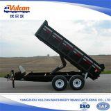 Hoog OEM - Aanhangwagen van de Kipper van de technologie de Hydraulische Opschorting voor Verkoop