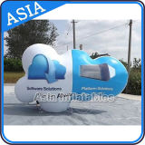 Cloud Shape Self Inflating PVC Flying Cloud, Publicité Custom Logo Inflatable Cloud