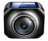 Bulit-dans l'appareil-photo 360 de sport de WiFi de MIC sur la ligne avec 2*Coms