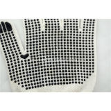 La mesure 10 a tricoté le gant de travail de sûreté avec des points de PVC