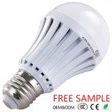Garantía de la alta calidad E27 Sostenedor SMD 2835 2years Garantía Bulbo recargable de la emergencia del LED, bulbo recargable del LED