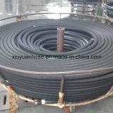 """"""" boyau en caoutchouc hydraulique flexible du pétrole 4sh-1-1/4 à haute pression spiralé"""