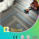 Casa de madeira 8.3mm HDF Crystal Oak Sound Absorbing Laminated Flooring
