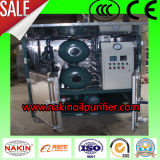 Máquina dobro da filtragem do óleo do transformador do vácuo dos estágios de Zyd da série