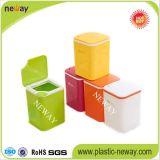 Suzhou-Hersteller-zurückführbarer Plastikmülleimer für Hauptgebrauch