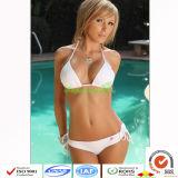 Süßigkeit-Farben-Frauenhalter-heißer Bikini/reizvoller Bikini