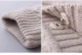 冬のPhoebeeの方法編むか、または編まれた子供の摩耗の女の子のカーディガン