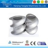 Component van de Extruder van de Schroef van Tenda de Tweeling voor Alle Samengestelde Materialen