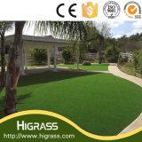 Il PPE decorativo della natura di bellezza fa il giardinaggio tappeto erboso sintetico con la prova a prova di fuoco