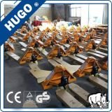 2.5 Tonnen-Minihandladeplatten-LKW-Gabelstapler-Ladevorrichtungs-Gabelstapler-manuelle Ladeplatte Jack