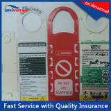 Erection及びInspection RecordのためのOEM Construction Safe Tag Scaffolding Tag