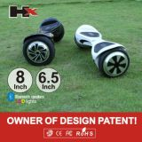 Vente en gros d'usine de Hx roue d'équilibre intelligente électrique de 6.5 de pouce roues électriques du scooter deux Hoverboard avec Bluetooth