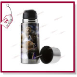 350ml Sliver Color Sublimation Stainless Vacuum Bottle con Lid