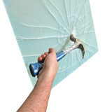 Manufactory ясности и покрашенного прокатанного защитного стекла