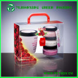 Tranparent Clear Plastic Box for Cosmetic and Gifts